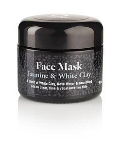 Jasmine And White Clay Face Mask - men's grooming & toiletries