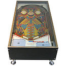 Illuminated 1970s Pinball Coffee Table Sold