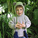 Baby Teddy Bear Hoody
