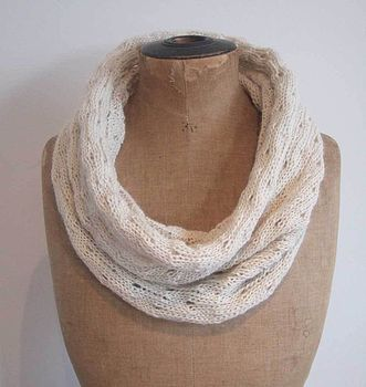 Alpaca Lace Snood