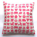 Chidren's Nursery Print Cushion