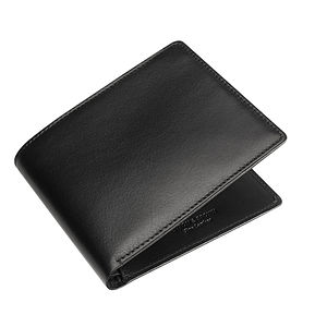 Italian Leather Eight Card Wallet