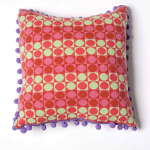 Card Square Cushion - patterned cushions