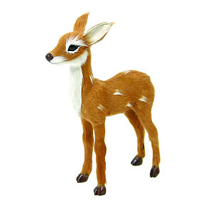 Decorative Bambi Deer Statue - christmas home accessories