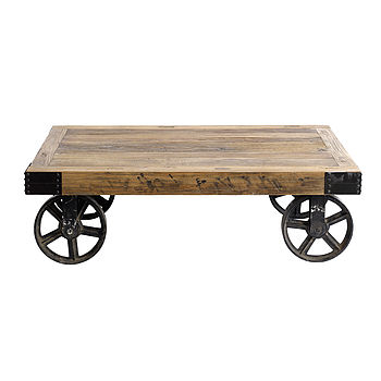Coffee Table On Wheels By Nordal
