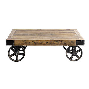 Coffee Table On Wheels By Nordal - furniture