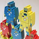 Thumb wooden stacking robots