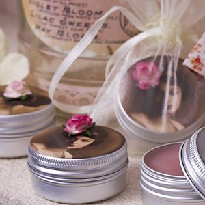 Three Strawberry Lip Balms - wedding favours