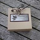 Gift box made from recycled card