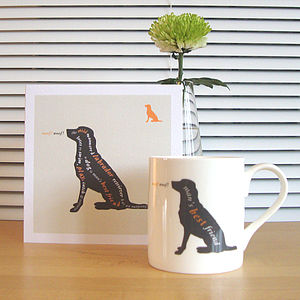 Dog, Cat, Horse And Duck Mug Range