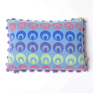 Buckle Oblong Cushion - patterned cushions