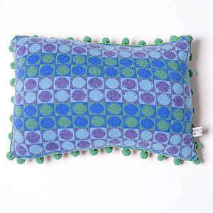 Card Oblong Cushion - patterned cushions