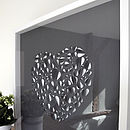 Big Love Heart Hand Crafted Wall Art