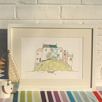 Personalised Print Of The Seaside