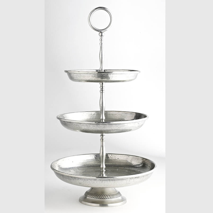 Metal tiered etagere by nordal by bell blue - Etagere modulable metal ...