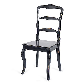 Black Countryside Dining Chair By Nordal