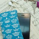 Handmade Royal Crowns Phone Case