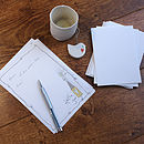 Hello You Notepaper Set