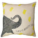 Smart Elephant Cushion