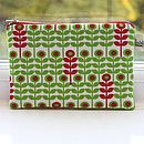 Love Flower Cosmetic Bag