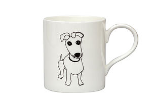 Little Jack Russell Mug - tableware