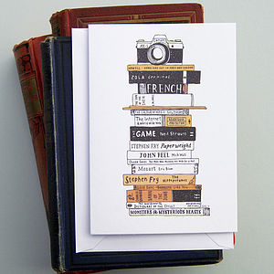 Books And Camera Card