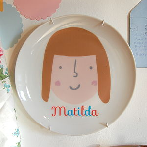 Personalised Face Plate - crockery & chinaware