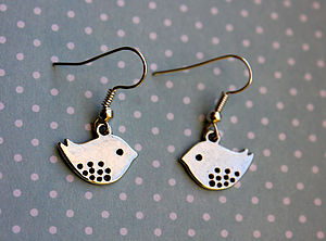 Birdy Earrings - earrings