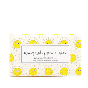 Wakey Wakey Rise N' Sine Soap - bathroom