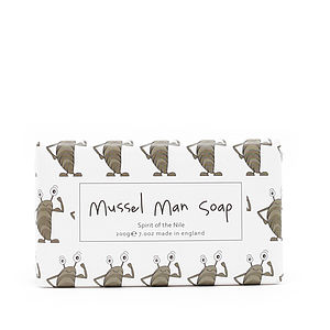 Mussel Man Soap - bathroom