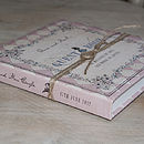 Alice in Wonderland Guest Book - Powder Pink