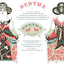 Bertha Tea Towel Or Cut And Sew Kit