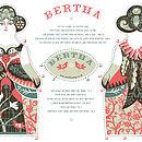 Bertha Tea Towel Or Cut And Sew Kit