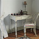 Antique Painted Writing Table