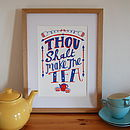 Tea Lovers Print