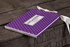 Personalised Spotty Dotty Guest Book - guest books
