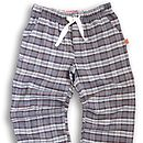 Teenage Check Brushed Cotton Lounge Pant