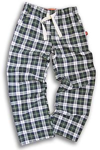 Teenage Check Brushed Cotton Lounge Pants - women's fashion