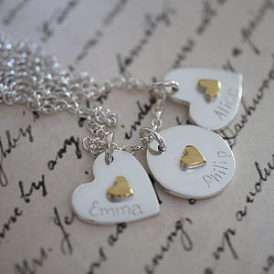 Personalised Cluster Charm Necklace
