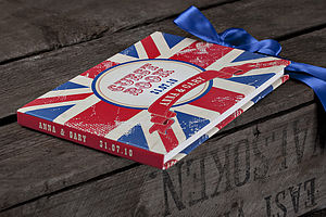 Personalised Union Jack Guest Book - guest books