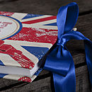 Personalised Union Jack Guest Book
