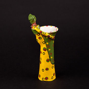 Painted Lady Candle Holders By Zizamele