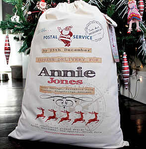 Personalised Christmas Sack - children's room accessories