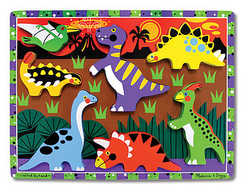Chunky Dinosaur Wooden Puzzle