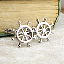 Ship's Wheel Cufflinks