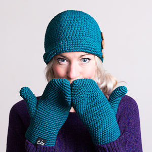 Organic Cotton Cloche Hat - hats & gloves