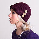Knitted Cloche Hat