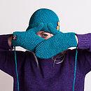 Organic Cotton Crochet Mittens