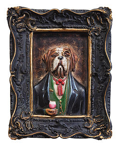 Framed Animal Picture - picture frames