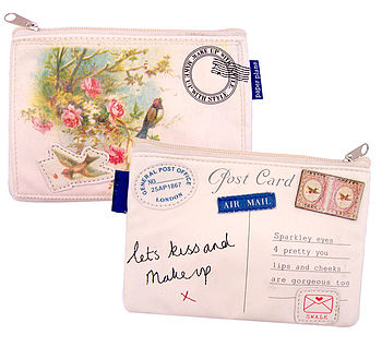 Paper Plane Make Up Bag